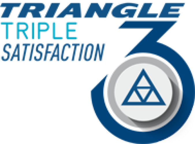 Triangle Triple Satisfaction