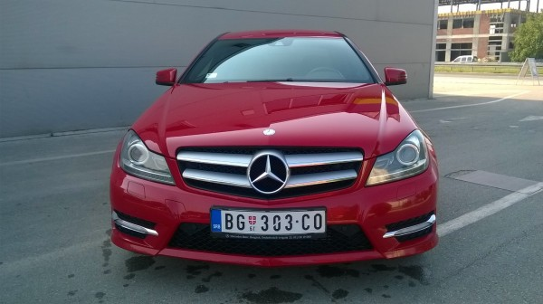 Mercedes-Benz C Coupe 220 CDI